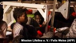 Situacija na brodu Lajflajna u utorak, 25. juna