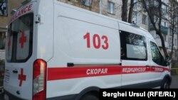 Ambulanță din regiunea transnistreană