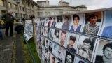 Фотографии на жртви од војните на територијата на поранешна Југославија.