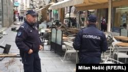 Policija na mestu događaja