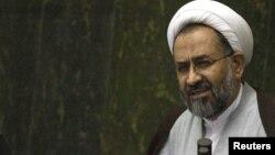 حیدر مصلحی، وزیر اطلاعات ایران.
