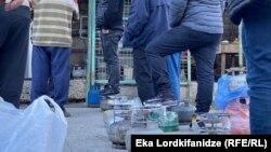 Уже второй день в Батуми наблюдаются очереди на ГАЗС