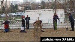 Aşgabat, ýowara gatnajyjylar