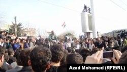 од протестите во Багдад