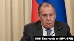 Ministrul de externe rus, Serghei Lavrov