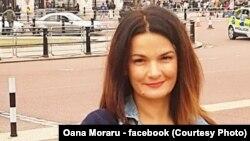 Profesoara Oana Moraru