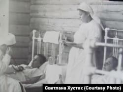 Старая больница в Раздолинске. Красноярский край