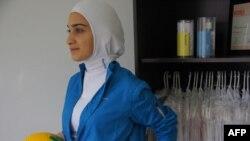 حجابی برای ورزشکاران، طرحی از الهام سید جواد، طراح کانادایی