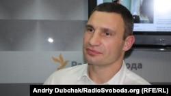 Ukrainian boxer-cum-politician Vitali Klitschko