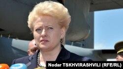Президент Литви Даля Ґрібаускайте