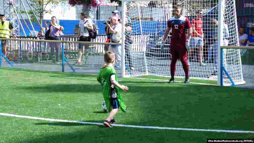 Можно забить гол в ворота паралимпийской сборной Украины по футболу