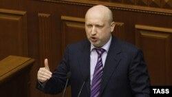 Шефот на украинскиот Совет за национална безбедност, Олександар Турчинов