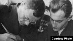 Ilf dhe Petrov, 1930.