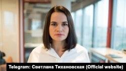 Лідерка білоруської опозиції Світлана Тихановська