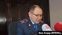 Заместитель руководителя Актюбинского областного департамента внутренних дел Арыстангали Заппаров.