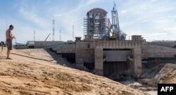 Будівництво космодрому «Восточний», фото 2015 року