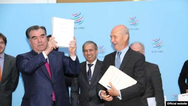 Tajikistan becomes the 159th WTO member on March 2.