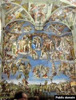 Мікелянджэлё Буанароці, «Страшны Суд» (1534-1541)