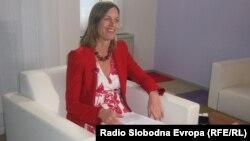 Мариет Схурман, амбасадорка на Холандија во Македонија.