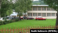 Bojkot na prvi dan škole u Konjević Polju, 2. septembar 2013.