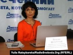 Наталія Шахрозан, психолог-волонтер