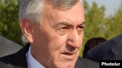 Бывший министр обороны Армении Микаэл Арутюнян (архив)