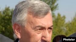 Armenia -- Former Defense Minister Mikael Harutiunian.