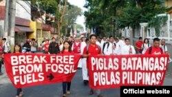 La un protest în Filipine