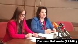 Jelena Tambur i Mirhunisa Zukić