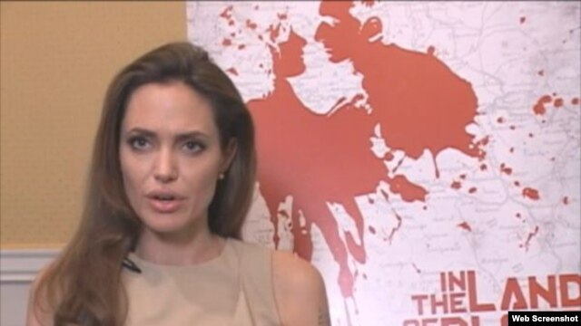 """In the Land of Blood and Honey"" is the directing debut of Hollywood actress Angelina Jolie."