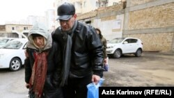 """""""We were thrown in jail, beaten, tortured. They stole our health,""""says Leyla Yunus (left), pictured with Arif in Baku in December 2015. """"They released us only because we were dying and they got scared."""""""