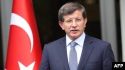 Министр иностранных дел Турции Ахмет Давутоглу (фотография из архива)