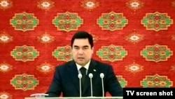 Туркманистон Президенти Қ.Бердимуҳамедов.