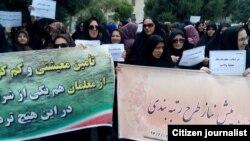 تجمع روز پنجشنبه معلمان در قزوین
