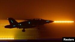 جنگندههای اف ۱۸ (در تصویر) از جمله هواپیماهای حاضر در این ماموریت بودند