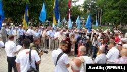 "Хаҗи Эмирали Аблаев: ""Без канлы режимнарның коточкыч җинаятьләрен онытмадык"""