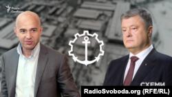 Ігор Кононенко та президент Петро Порошенко – бенефіціари «Кузні на Рибальському»