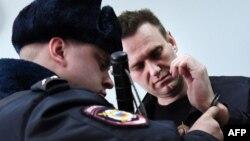 Олексій Навальний у суді, Москва, Росія, 30 березня 2017 року