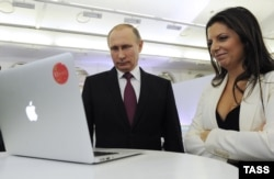Владимир Путин и Маргарита Симоньян