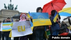 24 ноябрь Украинаның Европадагы киләчәген яклаучылар Германиядә дә җыелды