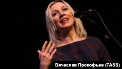 Голова департаменту інформації і преси Міністерства закордонних справ Росії Марія Захарова