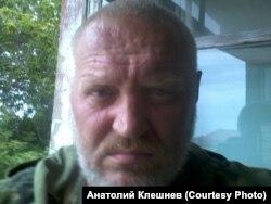 Александр Клешнев в Луганске. 2014 год