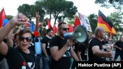 Antivladini protesti u Tirani, juni 2019