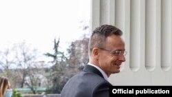 Министерот за надворешни работи и трговија на Унгарија Петер Сијарто