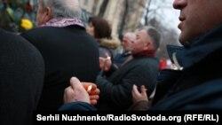 Фоторепортаж: Пам'ять Небесної сотні вшанували у центрі Києва