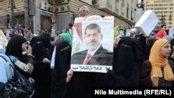 Акция сторонников Мохаммеда Мурси в Каире (16 августа 2013 года)