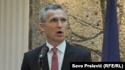 Генералниот секретар на НАТО, Јенс Столтенберг