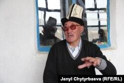 Ардагер мугалим Айдарали Сапарбаев, Мургабдын Ыраң-Көл айылы