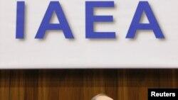 یوکیا آمانو، دبیرکل آژانس بینالمللی انرژی اتمی.
