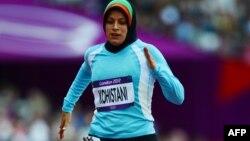 Əfqanıstan qadın idmançısı Tahmina Kohistani